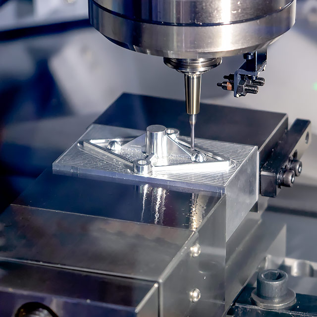CNC milling services application photo at Flexible Machining Systems